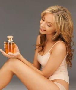 Macadmiaöl für die Haut